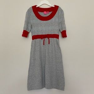Take Out Girls 1/2 Sleeves Knit Dress